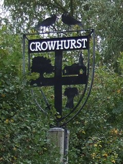 Photo of Crowhurst sign